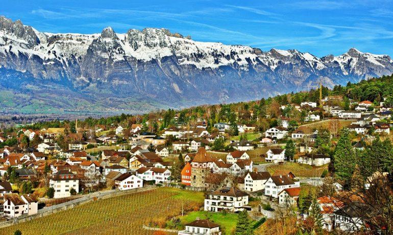 Отдых в столице Лихтенштейна, Вадуц