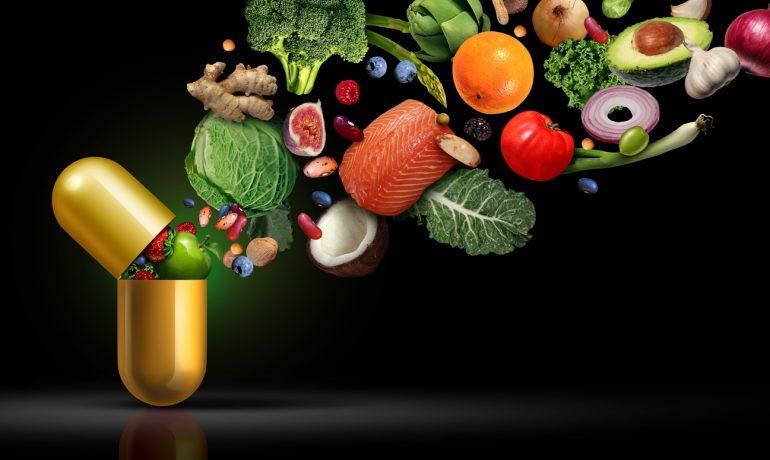 Биологически активные добавки и витаминные коктейли