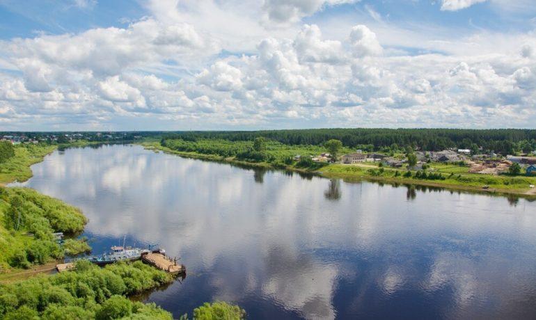 Что можно увидеть путешествую по Сухоне, Россия