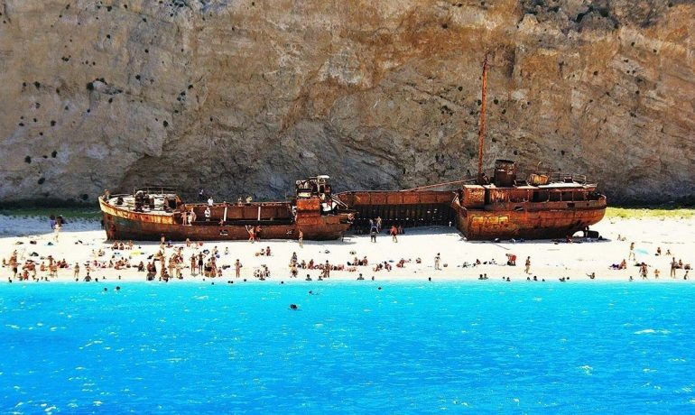 Греческий Закинф - остров белых скал. Идеальное место для отдыха с детьми